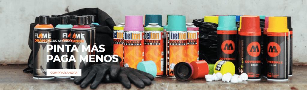 tienda online de graffiti packs ahorro