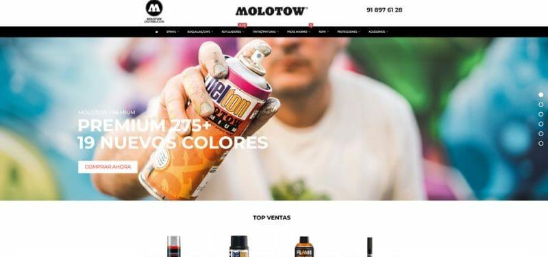 tienda online de graffiti tienda online www.molotow.es