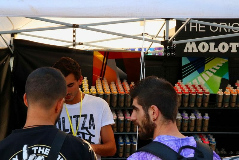Ulitza Fest Eventos de Graffiti en Madrid