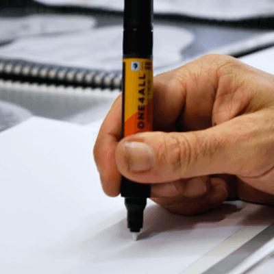 rotulador acrilico doble punta molotow