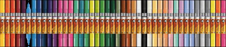 pintar con rotuladores acrilicos 50 colores