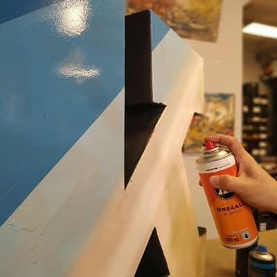 pintura acrilica en spray