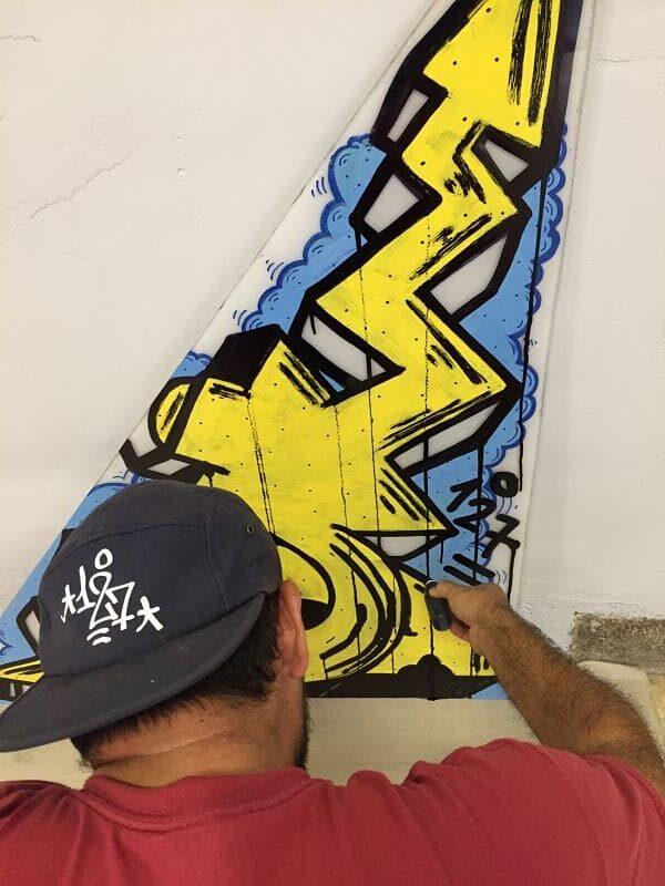 exposicion de graffiti sur