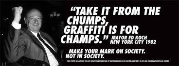 make yoou mark on society not in society