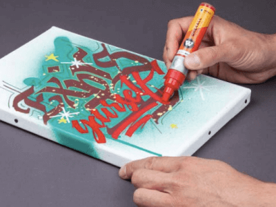 pintura acrilica para lienzo