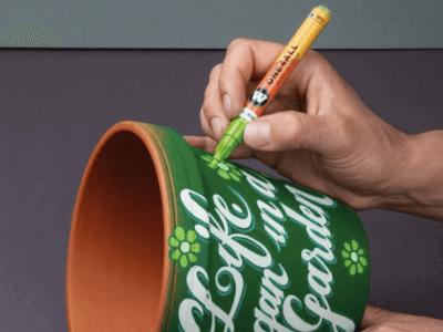pintura acrilica para ceramica