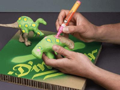 pintura acrilica papel