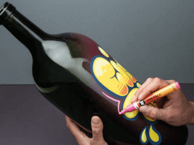 pintura acrilica cristal