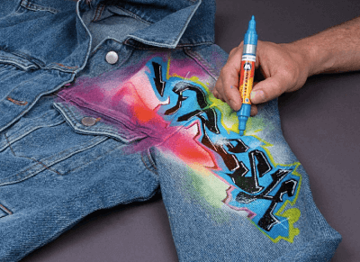 Pintura acrilica textil