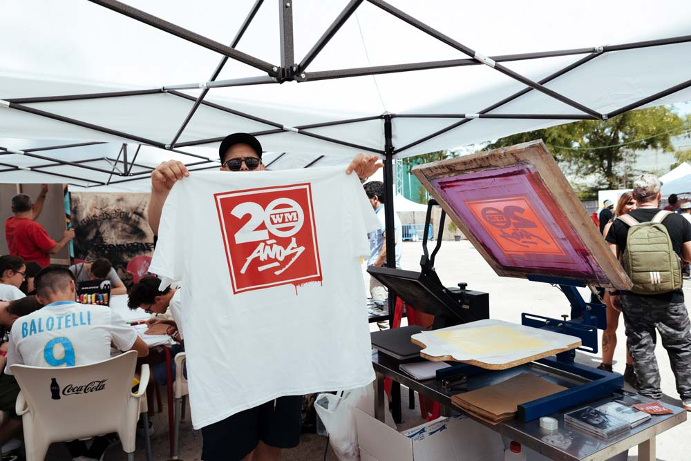 writers party serigrafia
