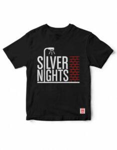 camiseta writers madrid silver nights