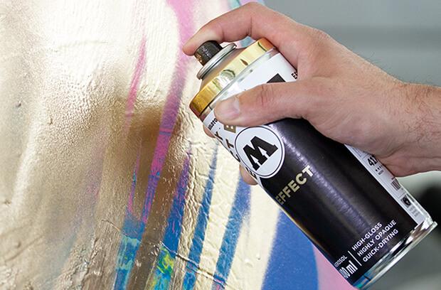 spray cromado color oro