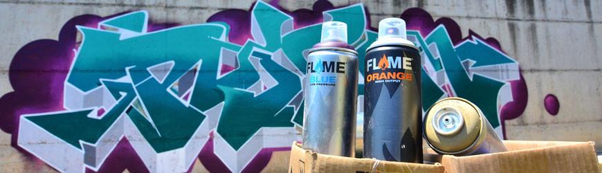 Spray de pintura Flame Paint - Writers Madrid