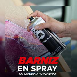 spray de barniz